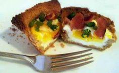 Easy recipe idea for Valentine's Day breakfast in bed!
