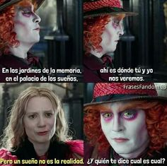 Mía wasikowska and Johnny Deep New Memes, Funny Memes, Tumblr Movie, Chesire Cat, Memes In Real Life, Sad Love, Relationship Memes, Spanish Humor, Laughing So Hard