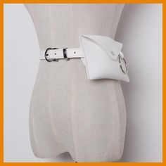 Vegan Leather Metal Ring Waist Bag Informations About Vegan Leather Metal Ring Waist Bag Pin You can Vegan Leather, Pu Leather, Belts For Women, Clothes For Women, Cloth Bags, Metal Ring, Leather Shoulder Bag, Clothing Accessories, Korean