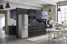 METOD/TINGSRYD keuken   #IKEAcatalogus #nieuw #2017 #IKEA #IKEAnl #keuken #koken #eten #tafel #stoel #lamp