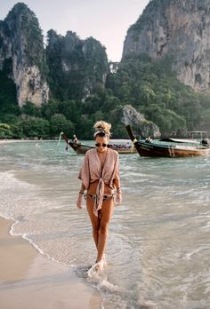 beach coverup and bikini beach wear; beach coverup and bikini Beach Pink, Beach Day, Girl Beach, New Travel, Travel Goals, Solo Travel, Travel Tips, Travel Europe, Travel Hacks