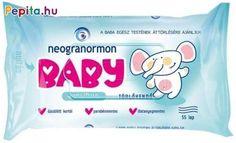 A Neogranormon Baby Sensitive törlőkendő rendkívül puha, vastag, textilhatású, amely gyengéden ápolja apróságod bőrét és megtisztítja. Tökéletes választás érzékeny bőrűek számára is, ugyanis nem tartalmaz illatanyagokat, parabént, alkoholt. Mindezek mellett bőrgyógyászatilag tesztelt, így használata biztonságos! Egész test áttörlésére is maximálisan alkalmas.    Jellemzői:  - Puha és gyengéd  - Biztonságos használat  - Bőrgyógyászatilag tesztelt  - Visszazárható fedél  - Egész testen… Personal Care, Baby, Products, Alcohol, Self Care, Personal Hygiene, Baby Humor, Infant, Babies