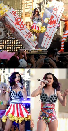 katy perrys awesome costumes