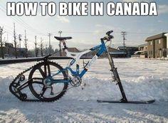 A Canadian Bike  - www.meme-lol.com