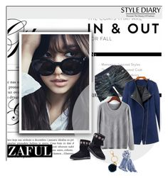 """""""Zaful 45"""" by sena87 ❤ liked on Polyvore featuring Shin Choi, Thomas Wylde, Henri Bendel and Chico's"""