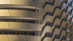 Golden hotel facade