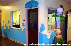 church kids hallways | Entrance Red Oak Baptist Church. Directional Signs for Kids Hallways ...