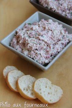 Recette de Mousse de salami & au fromage frais (Thermomix)