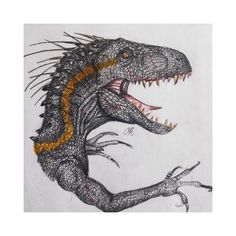 Finished my Indoraptor Dinosaur Art, Jurassic Park, It Is Finished, Cool Stuff, Instagram, Cool Things
