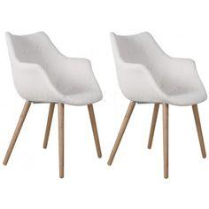 Stoel Eleven Wit - 2 stuks aanbieding - DesignOnline24.nl Eames, Stool, Chairs, Decorations, Furniture, Home Decor, Stools, Tire Chairs, Dekoration
