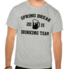 2015 Spring Break Drinking Team