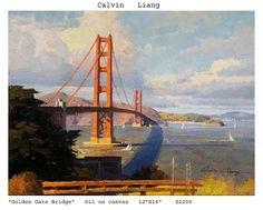 Title: Golden Gate Bridge by: #CalvinLiang #MountainsongGalleries