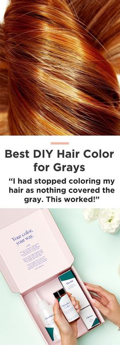 "Rethink your hair color routine: ""It was the exact hair color I was looking for...That in between color that you just can't get from store bought colors and can't get (afford) every month at the salon!"""