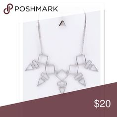 🆕 { The Cher} Tribal Necklace Set Tribal Necklace Set Available in Silver only Necklace is approximately 19 inches + ext Earrings are approximately 1 inch long Lead and Nickel Compliant faith & sparkle Jewelry Necklaces