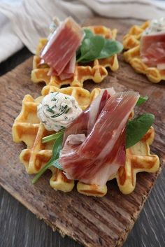 recipes with ham ~ recipes ` recipes for dinner ` recipes with ground beef ` recipes with chicken ` recipes for dinner healthy ` recipes with bananas ` recipes easy ` recipes with ham Banana Recipes Easy, Ham Recipes, Waffle Recipes, Brunch Recipes, Chicken Recipes, Dishes Recipes, Potato Waffles, Healthy Salad Recipes, Ground Beef Recipes