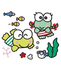 Novidades Keroppi Wallpaper, Anime Pixel Art, Molang, Favorite Cartoon Character, Hello Kitty Wallpaper, Sanrio Characters, Totoro, Coloring Pages, Sketches