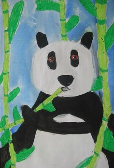 This artist is not quite 5 years old Beautiful Charlie! Here are some of the wonderful pandas from my K-2nd graders. Like my older ...