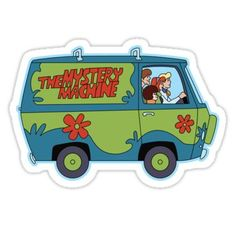 High quality Scooby Doo gifts and merchandise. Inspired designs on t-shirts, posters, stickers, home decor, and more by independent artists and designers from around the world. Stickers Cool, Preppy Stickers, Bubble Stickers, Cartoon Stickers, Phone Stickers, Printable Stickers, Bumper Stickers, Retro, Homemade Stickers