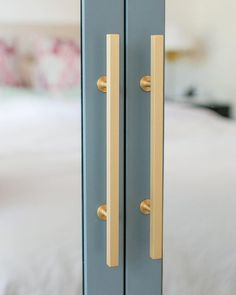 This is an ikea pax wardrobe that was painted and added custom mirrors. I - IKEA Closet Hacks, Ikea Wardrobe, Ikea Hack, Ikea Closet Hack, Ikea, Door Makeover, Ikea Pax, Closet Mirror, Ikea Pax Wardrobe