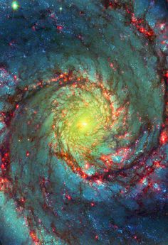 Whirlpool Galaxy you ever seen the Hubble pic of the x-structure in the centre of the Whirlpool galaxy? Hubble Space, Space And Astronomy, Space Telescope, Space Shuttle, Carl Sagan Cosmos, Whirlpool Galaxy, Space Photos, Deep Space, Space Space