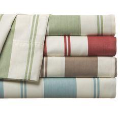 Havana Cabana 350 TC Stripe Cotton-Rich Sheet Set
