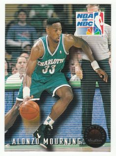 Alonzo Mourning # 5 - 1993-94 SkyBox Premium Basketball