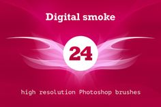 Digital smoke brush pack by outlinez on @creativemarket