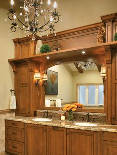 Gather ideas and inspiration for traditional bathroom designs, and prepare to install an elegant bathroom design in your home. Romantic Bathrooms, Amazing Bathrooms, Half Bathrooms, Bathroom Light Fixtures, Bathroom Lighting, Bathroom Renovations, Home Remodeling, Kitchen Remodeling, Bathroom Layout