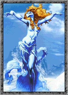 In Norse mythology, Bestla is the mother of the gods Odin, Vili and Vé by way of Borr, the sister of an unnamed being who assisted Odin, and the daughter or, depending on source, granddaughter of the jötunn Bölþorn.