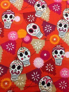Alexander Henry Fabric Puebla Orange