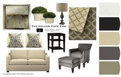 Pocket : Clean and Calm~Gray and tan living room