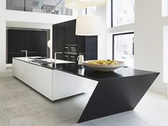 Åpne landskap mellom stue og kjøkken - 13 nye løsninger til kjøkkenet - Bo-Bedre.no