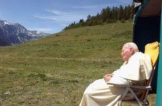 En Valle de Aosta, julio 2004  Beato Juan Pablo II  Conoce su vida de santidad en www.aciprensa.com/juanpabloii