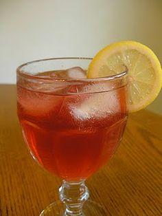Blueberry Southern Iced Tea