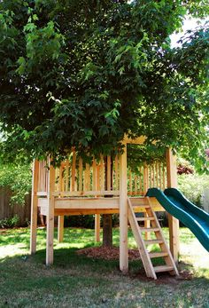 Octagon Treehouse - Natural State Treehouses #kids #treehouse #backyard