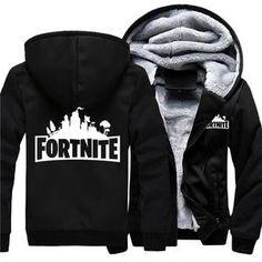 6635ab7e8 USA SZIE Game Hoodies Men's Jackets Winter Fleece Zipper Thicken Fleece Men  Hooded Hoodies Sweatshirts Outerwear