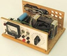 Benchtop Power Supply - Homemade benchtop power supply constructed from a surplus filament transformer, rotary switch, cap… in 2019 Hobby Electronics, Electronics Gadgets, Electronics Projects, Electronic Engineering, Electrical Engineering, Electrical Wiring, Electronic Technician, Power Supply Circuit, Radios