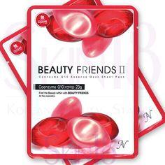 Beauty Friends II Essence Mask Sheet Pack (Coenzyme Q10)