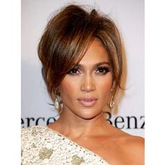 Jlo Hairstyles Beauteous Degrade Milong Frange Jennifer Lopez  Hairsusan Janssen