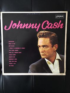 A personal favourite from my Etsy shop https://www.etsy.com/uk/listing/499615840/johnny-cash-original-1964-german-release