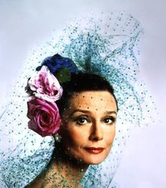 Audrey Hepburnphotographed at the House of Givenchy in Paris (France) by Sergio Strizzi, March 1979