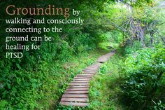 Grounding - an essential tool in the trauma-healing toolkit