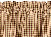 Apple Jack 24 Curtain Tiers By Primitive Home Decors 1995 100 Cotton
