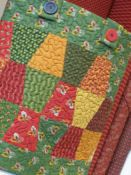 Scrappy thimble quilt- I have this template!