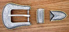 """S5554 ASAG 1"""" 25MM Belt Buckle Set"""