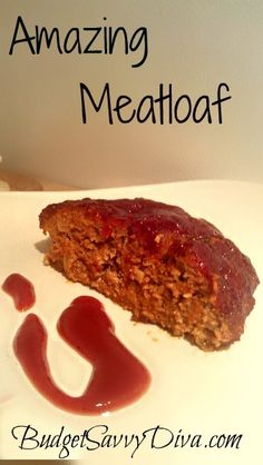 This is my own personal meat loaf recipe. My hubby would never eat one till he tried this recipe. Simple and easy.