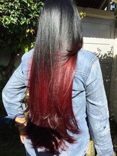 Rojo Jose, Balayage Negro Rojo, Cano De Jose, Pelo Cabello, Cano Studio