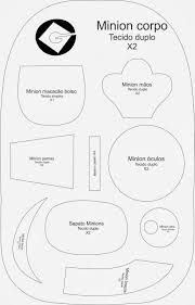 Afbeeldingsresultaat voor minion cutout template
