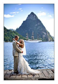 St. Lucia wedding Jonathan Thrasher destination wedding photography