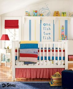 Dr. Seuss Nursery! If I ever have a baby, it will be in this theme :)